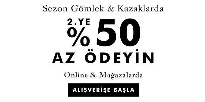Banana Republic Gömlek ve Kazaklar %50 İndirimli