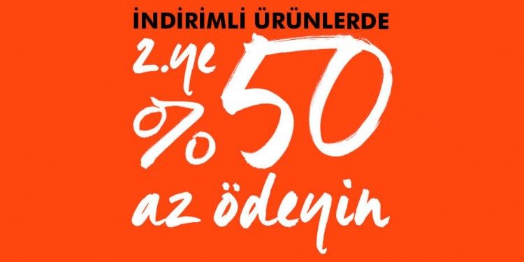 %50 Banana Republic İndirimi
