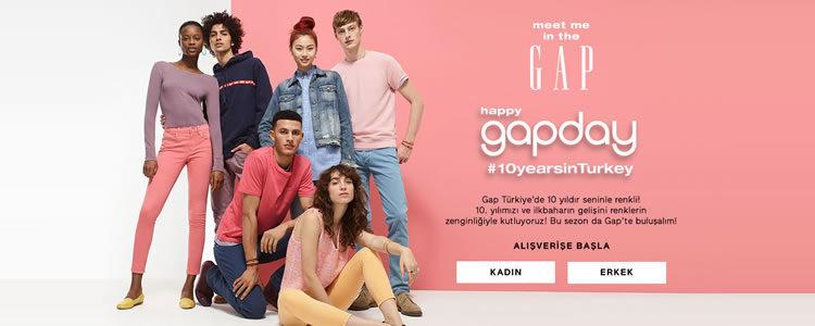 GAP Türkiye %40 İndirimle 4 yıldır Türkiye'de!