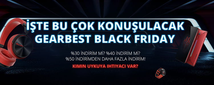 GearBest Black Friday Başladı!