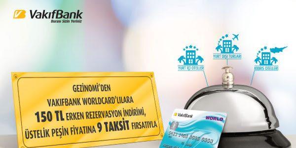 150 TL Erken Rezervasyon İndirimi ve Peşin Fiyatına 9 Taksit