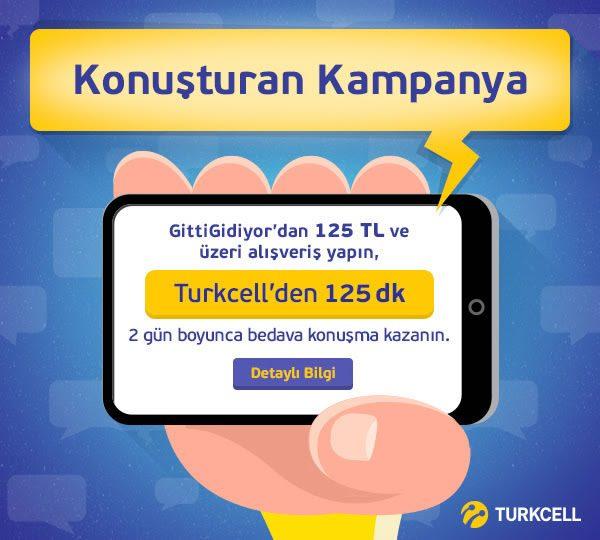 Turkcell'den 125 Dakika Hediye