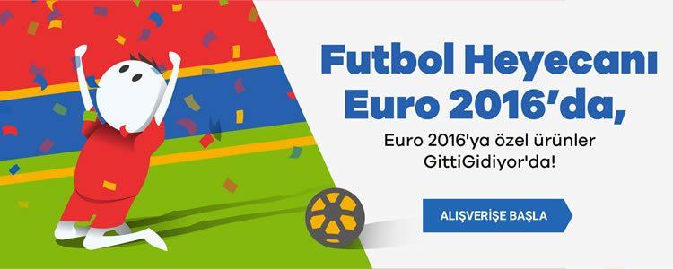 Euro 2016 Heyecanı GittiGidiyor'da!