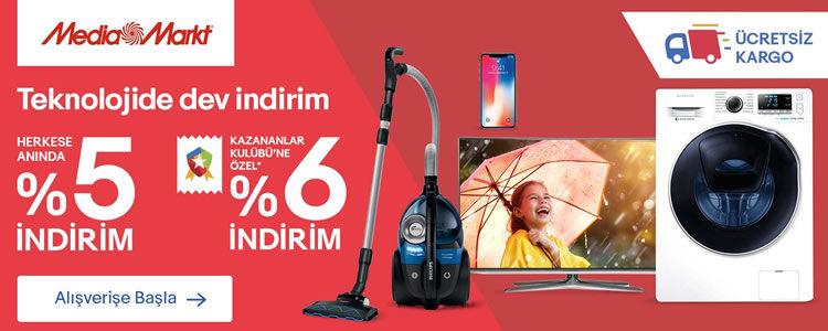 GittiGidiyor'da Media Markt Alışverişi %6 İndirimli