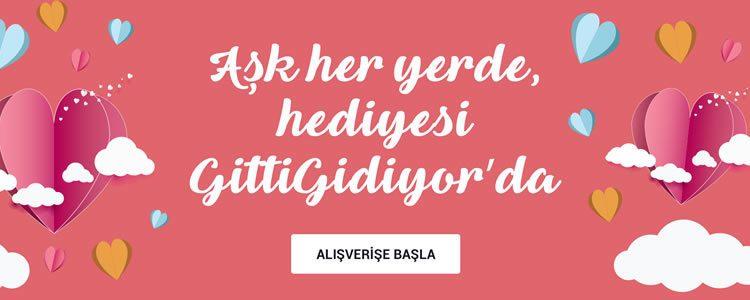 Aşk Her Yerde, Sevgililer Günü Hediyeleri GittiGidiyor'da!