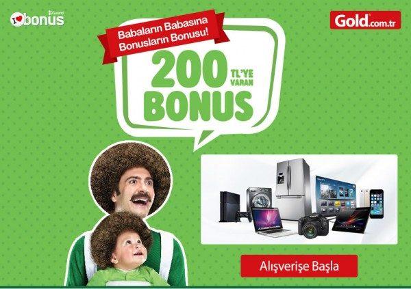 Babaların Babasına 200 TL Bonus