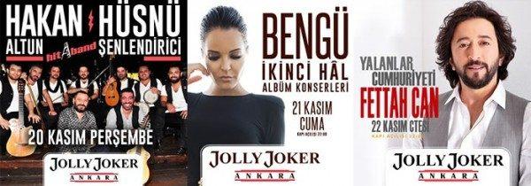Hakan Altun & Hüsnü Şenlendirici, Bengü ve Fettah Can Konser Biletlerinde %50 İndirim