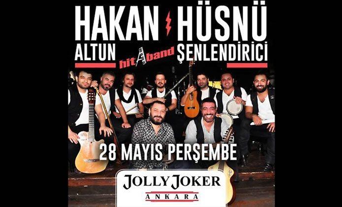 Hakan Altun & Hüsnü Şenlendirici Konserine Konserine İndirimli Biletler