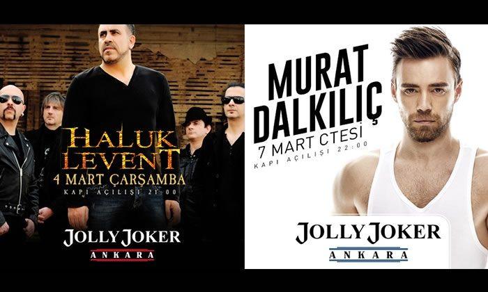Haluk Levent ve Murat Dalkılıç Ankara Konserleri %50 İndirimli