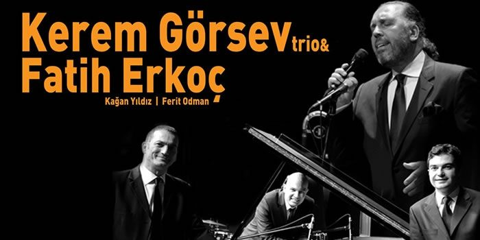 Kerem Görsev Trio & Fatih Erkoç Konser Biletleri %35 İndirimli