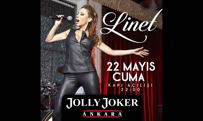 Linet Jolly Joker Ankara'da, Biletler İndirimde