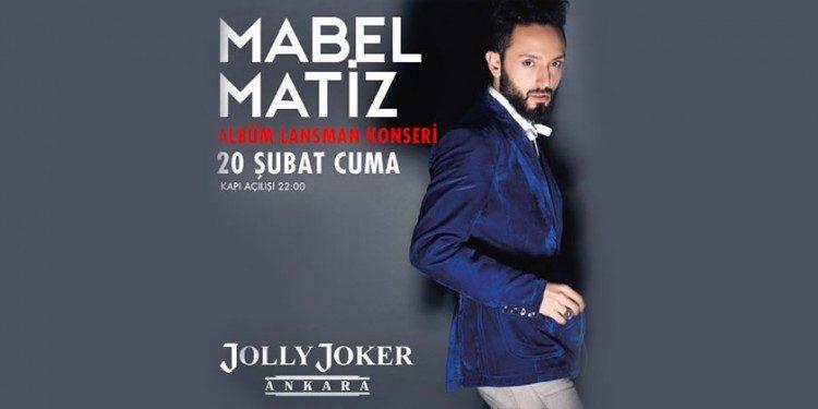 Mabel Matiz Ankara Konser Biletlerinde %50 İndirim