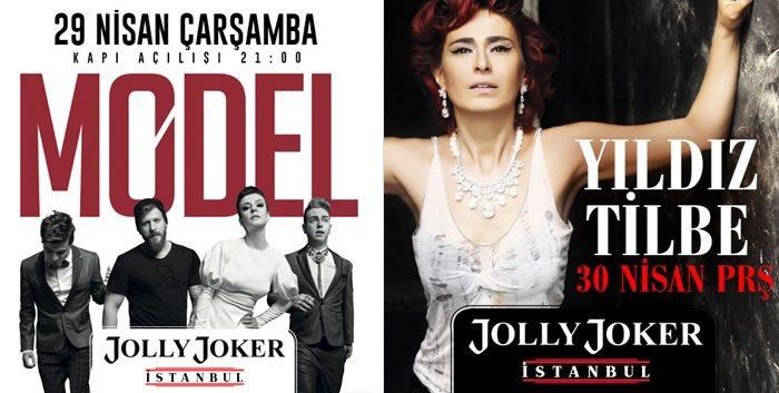 Model ve Yıldız Tilbe Balans Jolly Joker'de, Bİletler İndirimde
