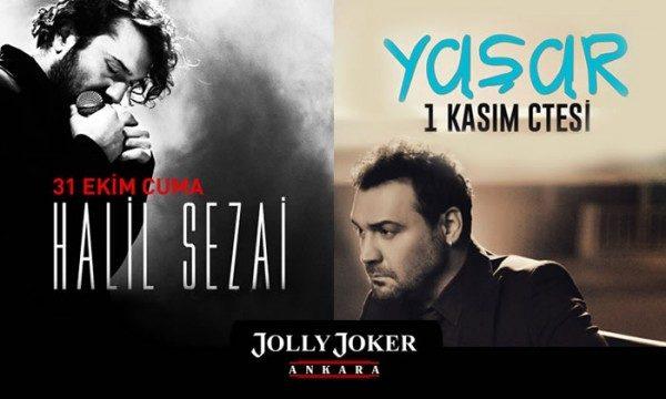 Halil Sezai ve Yaşar Konser Biletleri %50 İndirimli