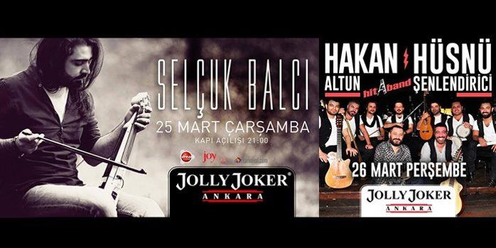 Selçuk Balcı ve Hakan Altun & Hüsnü Şenlendirici Ankara Konserleri %41 İndirimli
