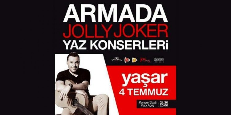 Yaşar Ankara Konser Biletleri %40 İndirimli