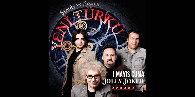 Jolly Joker Ankara'da Yeni Türkü Konserine İndirimli Biletler