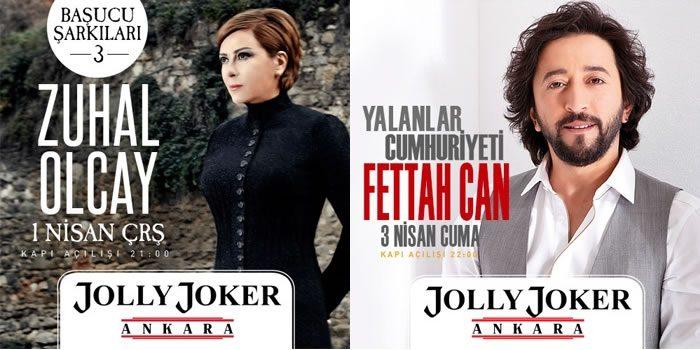 Zuhal Olcay ve Fettah Can Ankara Konserleri %50 İndirimli