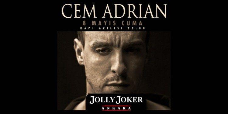 8 Mayıs Cem Adrian Konserine İndirimli Biletler