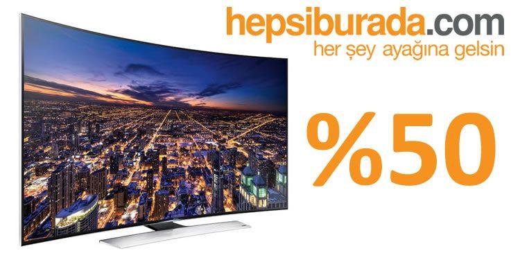 Çok Satılan LED Televizyonlarda %50'ye Varan İndirim