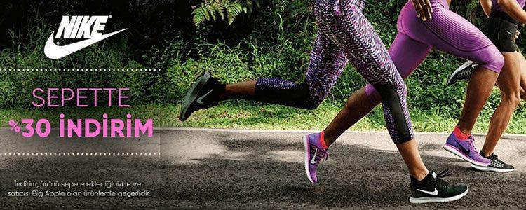 Nike Ürünleri Sepette %30 Ekstra İndirimli