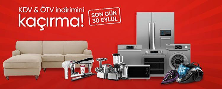 KDV ve ÖTV İndirimi İçin 30 Eylül Son Gün!