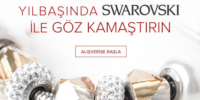 Yeni Yılda Swarovski Işıltısını Üzerinizde Taşıyın!