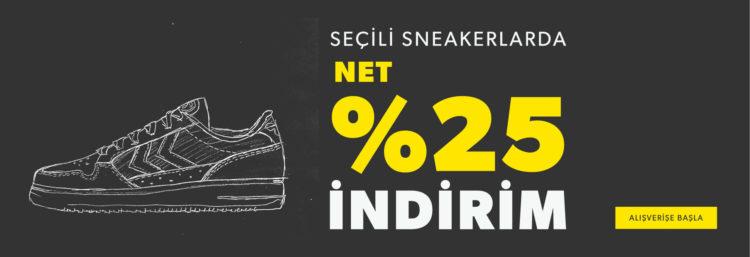 Hummel'da Seçili Sneakerlarda Net %25 İndirim Başladı!