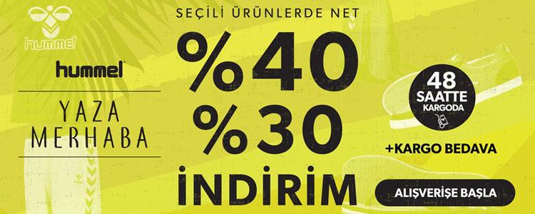 %40 Hummel İndirim Kampanyası