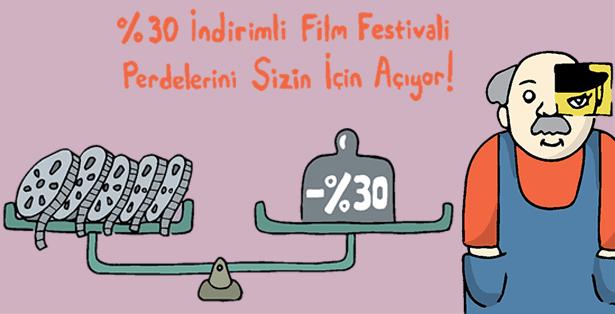 %30 İndirimli Film Festivali