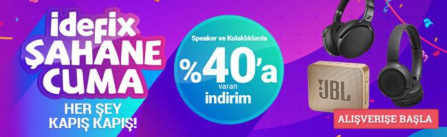 Speaker & Kulaklıklarda %40'a Varan İndirim!