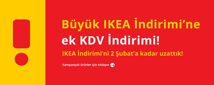 Büyük IKEA İndirimi + KDV İndirimi
