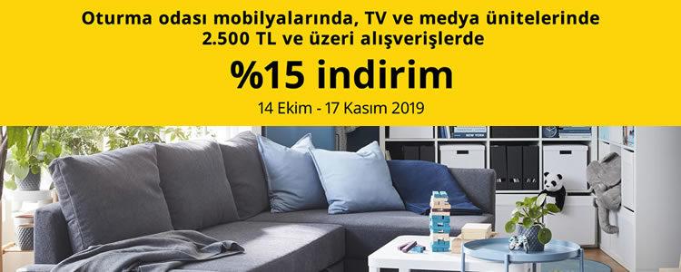 IKEA'da %15 İndirim