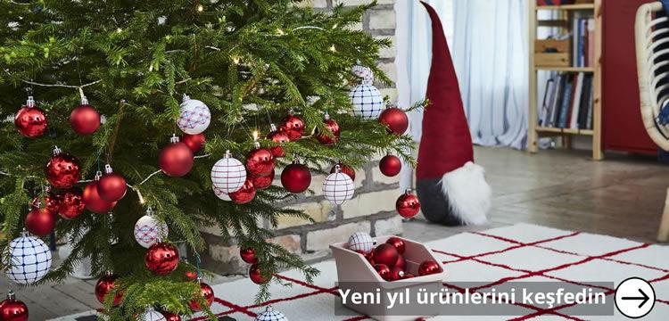 Yeni Yıl Atmosferi IKEA ile Evinizde