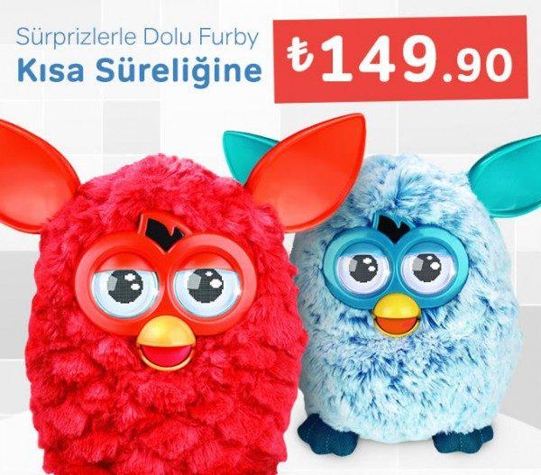 Furby Kısa Bir Süre İçin 149,90 TL
