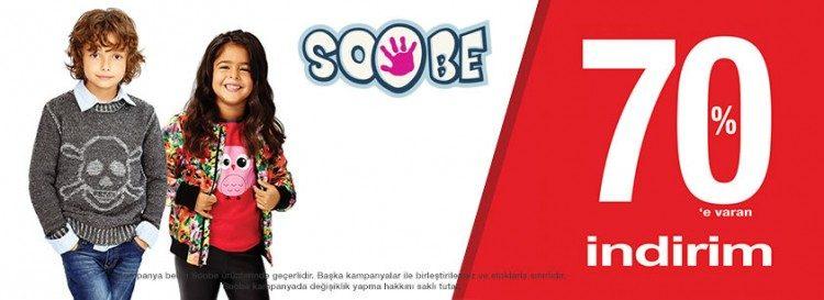 Soobe Tekstil Ürünlerinde %70'e Varan İndirim