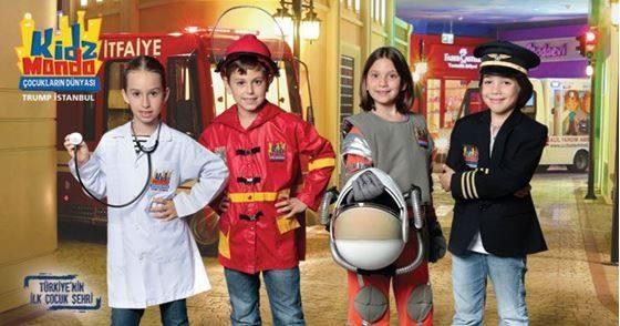 Türkiye'nin İlk Çocuk Şehri KidzMondo'ya İndirimli Giriş