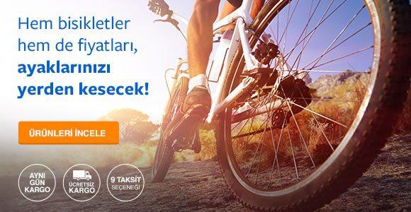 Bisikletlerde Çok Özel Kliksa İndirimi + Ücretsiz Kargo