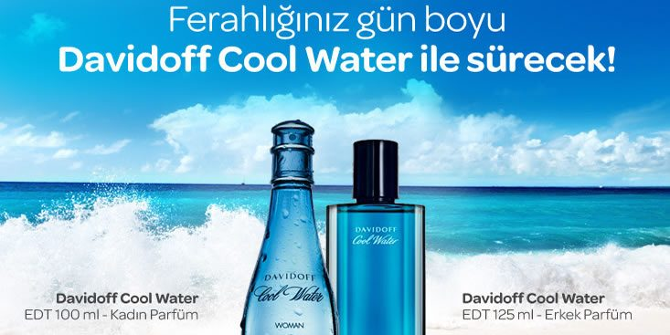 Davidoff Cool Water Bugüne Özel İndirimde