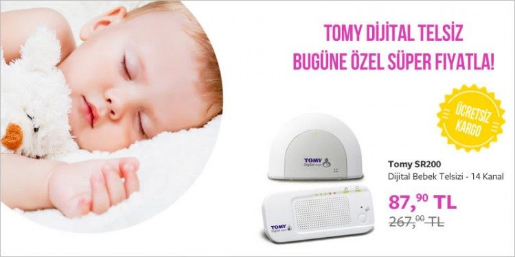 Günün Fırsatı: Tomy Bebek Telsizi 267 TL Yerine 87 TL!