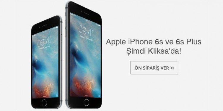 iPhone 6s Ön Siparişte!