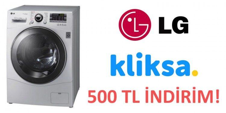 LG Kurutmalı Çamaşır Makinesinde 500 TL İndirim