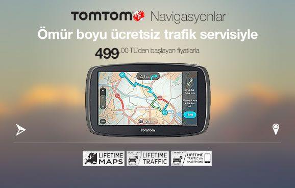 TomTom Navigasyon Ömür Boyu Güncelleme Garantisiyle
