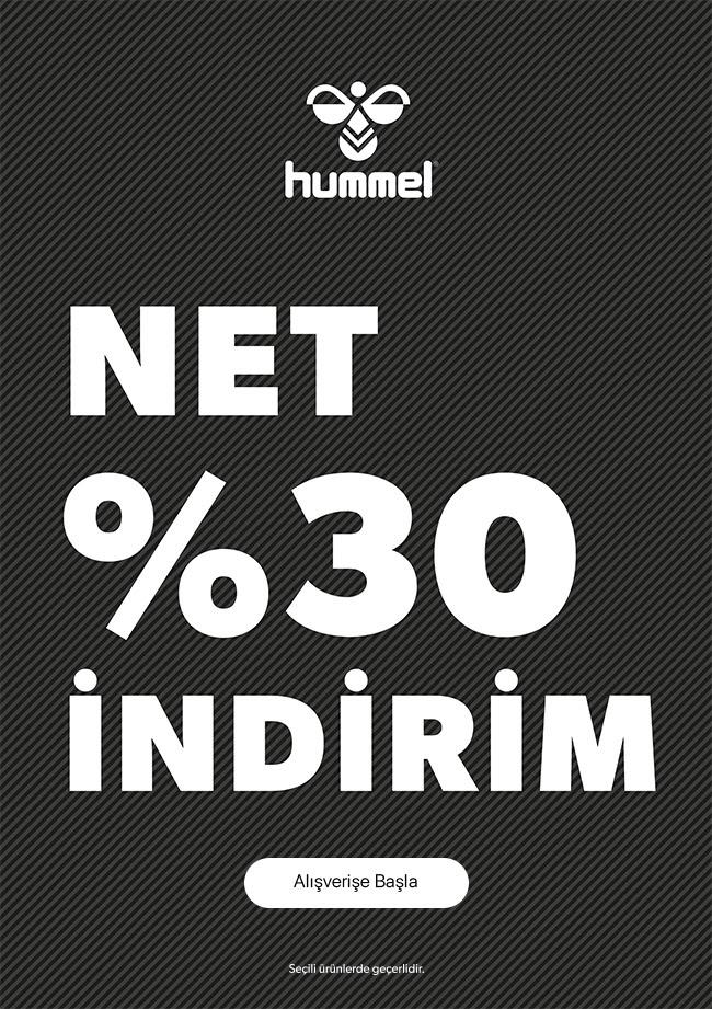 Hummel'da Net %30 İndirim!