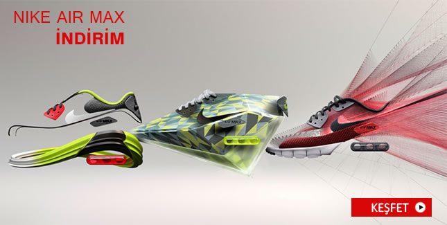 Nike Air Max Ürünlerinde %30'a Varan İndirim