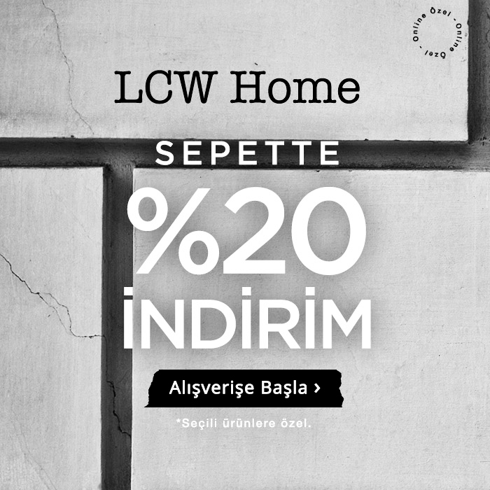 LCW Home Sepette %20 İndirim