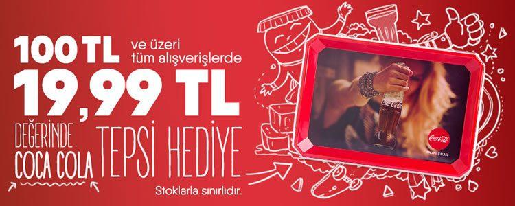 Coca-Cola Tepsi Hediye!