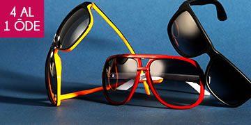 4 Al 1 Öde: 89 TL'ye Dört Adet Paco Loren Güneş Gözlüğü!