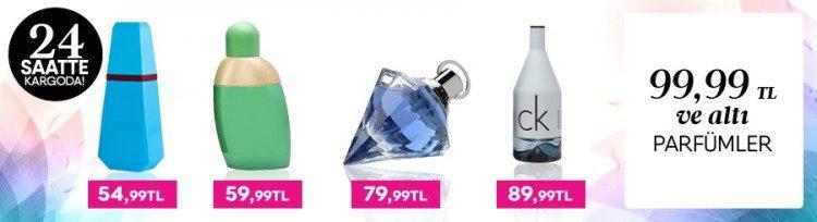 99 TL'den Ucuza Dünyaca Ünlü Parfümler