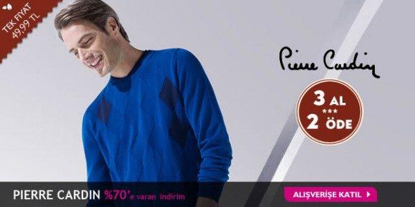 Pierre Cardin Gömlekte Tek Fiyat ve 3 Al 2 Öde Bir Arada